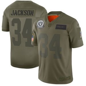 Men's Oakland Raiders Bo Jackson Jersey